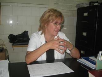 La Dra. Ana Girardelli
