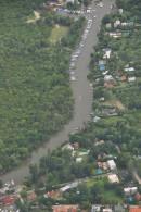 Vista aerea del Arroyo Doña Flora
