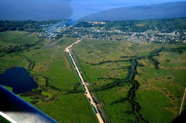 Zona bañados y laguna Los Patos (Punta Lara)